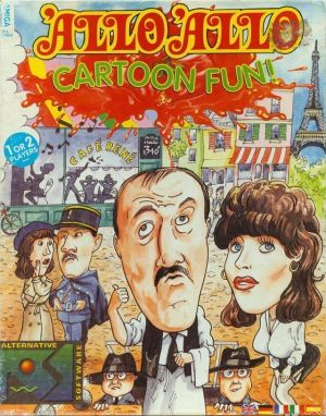 Allo Allo! Cartoon Fun! Disk2 ROM