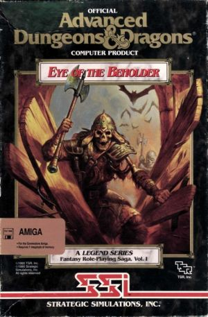 Eye Of The Beholder Disk2 ROM