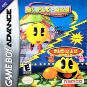 2 In 1 - Ms. Pac-Man - Maze Madness & Pac-Man World ROM