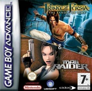 2 In 1 Prince Of Persia The Sands Of Time Tomb Raider The Prophecy Rom Download For Gameboy Advance Europe