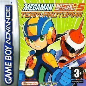 MegaMan Battle Network 5 - Team Protoman ROM