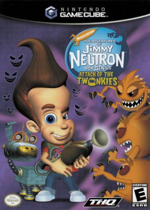 Nickelodeon The Adventures Of Jimmy Neutron Boy Genius Jet Fusion ROM