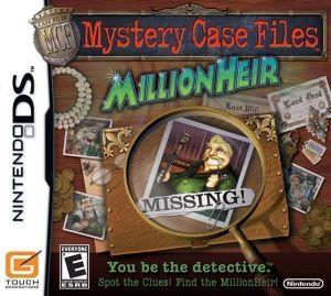 Mystery Case Files Millionheir V01 Rom Download For Nintendo Ds Usa