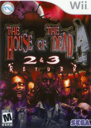 The House Of The Dead 2 3 Return Rom Download For Nintendo Wii Usa