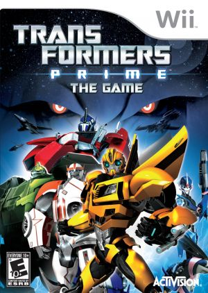 Transformers Prime The Game Rom Download For Nintendo Wii Usa