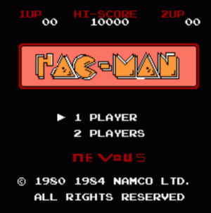 Acid Hackman (Pac-Man Hack) ROM