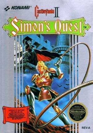 Castlevania 2 - Simon's Quest  [T-Swed1.0] ROM