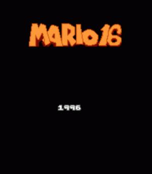 Mario 16 Rom Download For Nintendo Usa