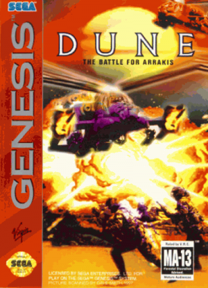 Dune - The Battle For Arrakis ROM