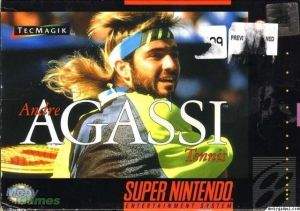 Andre Agassi Tennis ROM