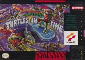 Teenage Mutant Ninja Turtles IV - Turtles In Time ROM