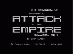 Attack Of The Empire (1985)(Chibur) ROM