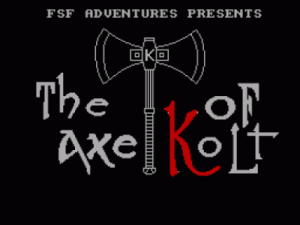 Axe Of Kolt, The (1990)(FSF Adventures)(Part 4 Of 4)[128K] ROM