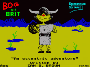 Bog Of Brit (1990)(Zenobi Software)[re-release] ROM