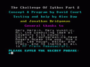 Challenge Of Iythus, The (1988)(Creative Juices)(Side B)[a][128K] ROM