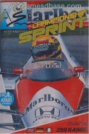 Championship Sprint - Track Editor (1988)(Electric Dreams Software)[a] ROM