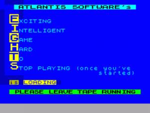Eights (1985)(Atlantis Software) ROM