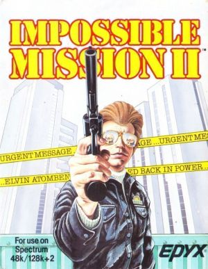 Impossible Mission II (1988)(Kixx)(Side B)[re-release] ROM
