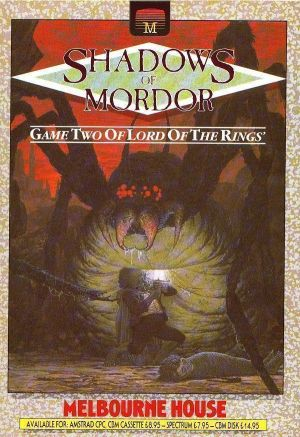 Lord Of The Rings - Game Two - Shadows Of Mordor (1987)(Melbourne House)[a] ROM