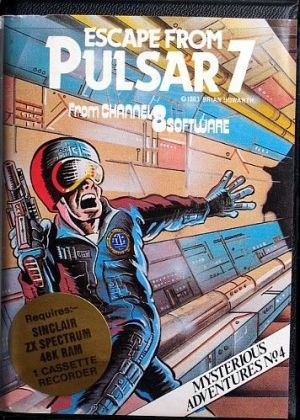 Mysterious Adventures No. 04 - Escape From Pulsar 7 (1983)(Channel 8 Software) ROM