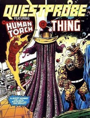 Questprobe 3 - The Human Torch And The Thing (1985)(Adventure International) ROM