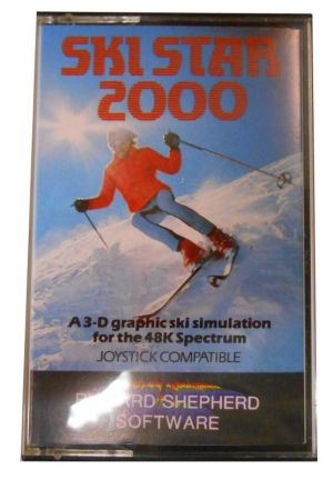 Ski Star 2000 (1985)(Richard Shepherd Software) ROM