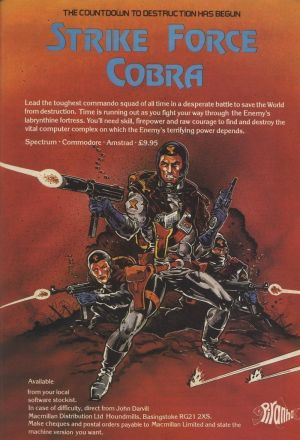Strike Force Cobra (1988)(System 4)[re-release] ROM