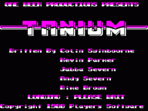Tanium (1988)(Players Software) ROM