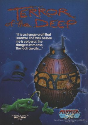 Terror Of The Deep (1987)(Mirrorsoft) ROM