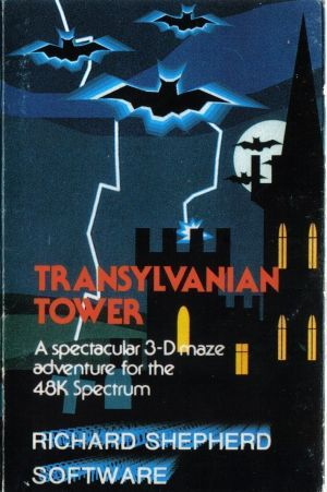 Transylvanian Tower (1982)(Richard Shepherd Software)[a] ROM