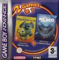 2 In 1 - Monsters En Co & Finding Nemo (N)