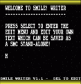 Smile Writer (V1.1) (PD)