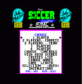 4 Soccer Simulators - Street Soccer (1989)(Codemasters Gold)[48-128K]