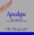 Apocalypse (1983)(Red Shift)(Side B)