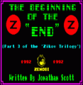 Beginning Of The End, The (1992)(Zenobi Software)(Side A)