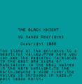 Black Knight Adventure (1988)(Atlas Adventure Software)(Side A)[a]