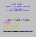 Danger Mouse In Making Whoopee! (1988)(System 4)[re-release]