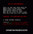 Era Of Enchantment (1988)(Sacred Scrolls Software)(Side A)