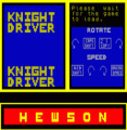 Knight Driver (1984)(Hewson Consultants)