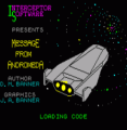 Message From Andromeda (1986)(Interceptor Micros Software)[a]