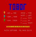 Tobor (1982)(Custom Cables International)[re-release]